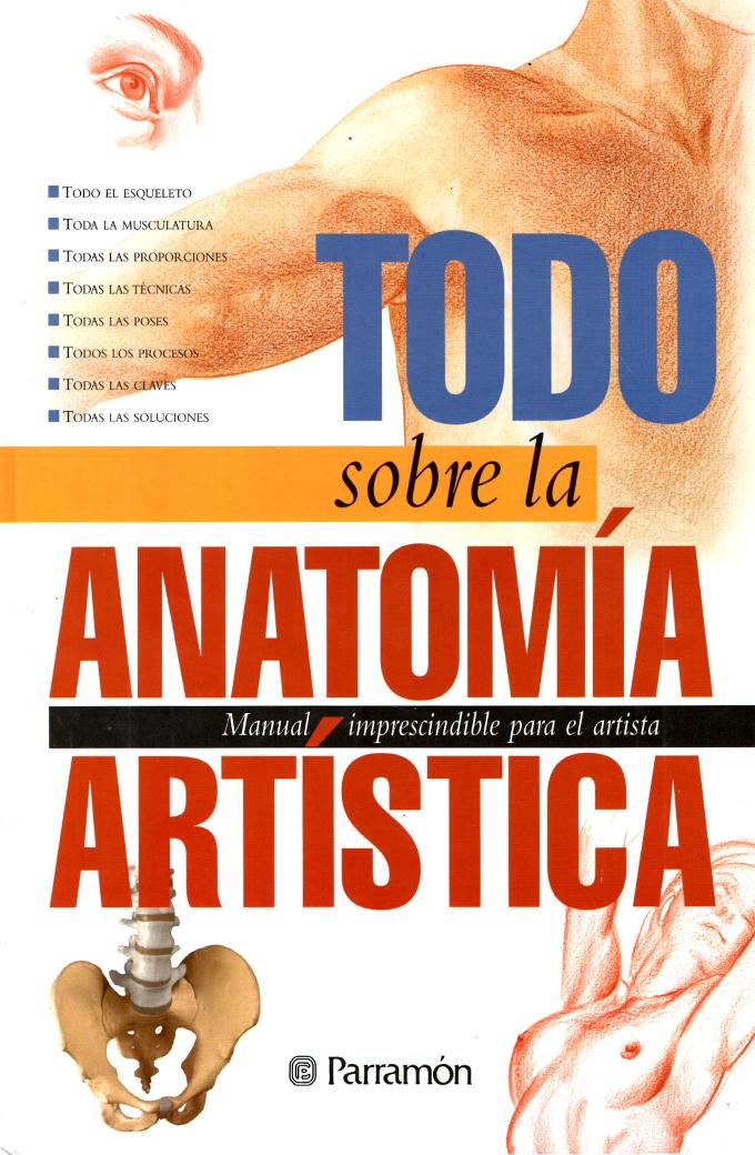 Todo Sobre la Anatomía Artística – Librería temas y libros
